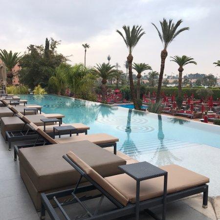 Photo de sofitel marrakech palais imperial - Piscine sofitel marrakech ...