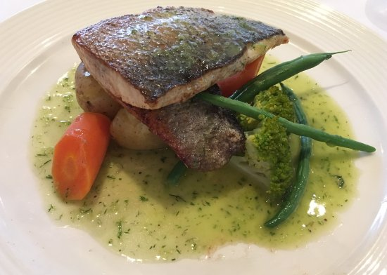 Styal, UK: Sea bass from the fixed price mains menu