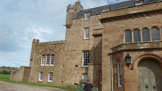 The Castle and Gardens of Mey: front of castle