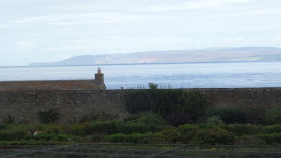 The Castle and Gardens of Mey: view from castle