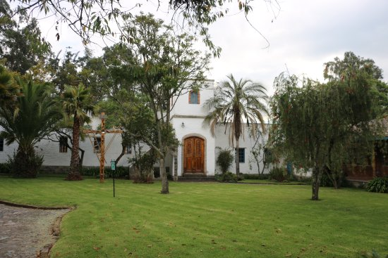 Hacienda Cusin: The conference center in a converted monastery