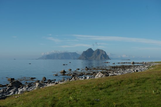 Vaeroy, Norway: View from Nordland in Værøy