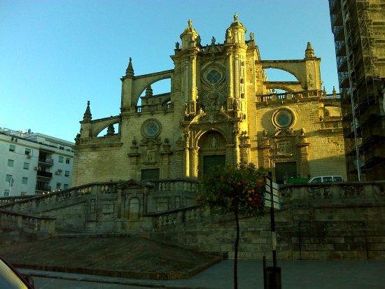 Catedral de Jerez de la Frontera: Fachada principal.