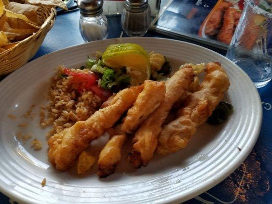 Fish Fingers at La Perlita