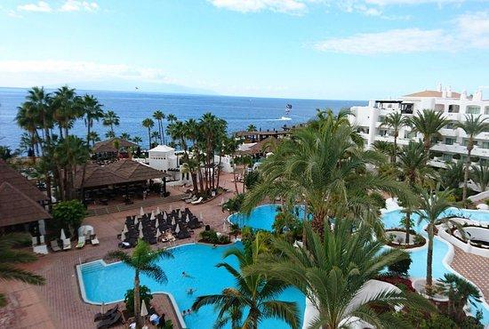 Espectaculares vistas y atardecer picture of hotel for Jardin tropical tenerife tripadvisor