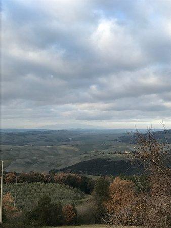 Ulignano, อิตาลี: Vista verso il Monte Serra