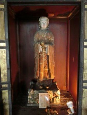 Asuka-dera: 聖徳太子像