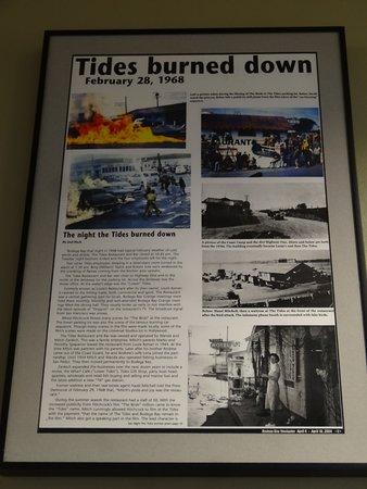 The Tides Wharf Restaurant: recuerdos del film