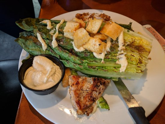 Appalachian Brewing Company - Battlefield: grilled lettuce with grilled chicken