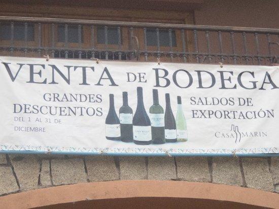 Lo Abarca, Χιλή: signage