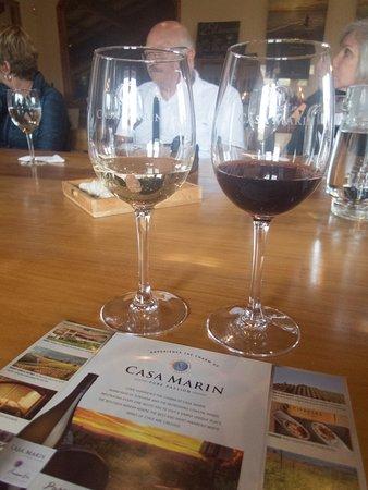Lo Abarca, Χιλή: meagre tasting