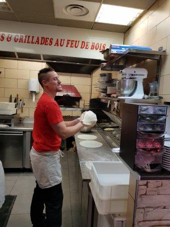 V g tarienne photo de resto grill chez tony hy res for Emploi pizzaiolo