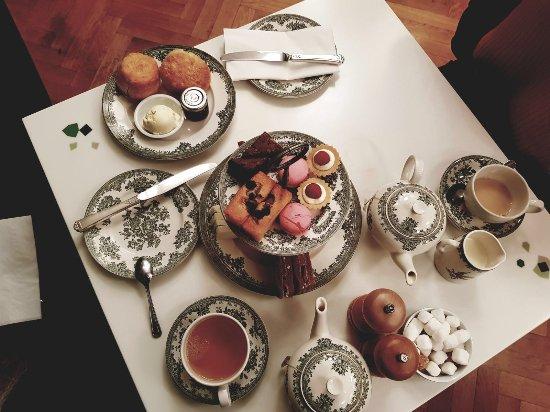 Wellcome Kitchen: Afternoon tea spread