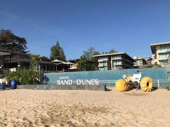 Sand Dunes Chaolao Beach Resort プライベートビーチ