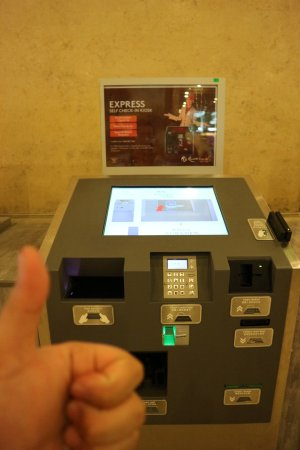 First World Hotel, Resorts World Genting: Self check in :)