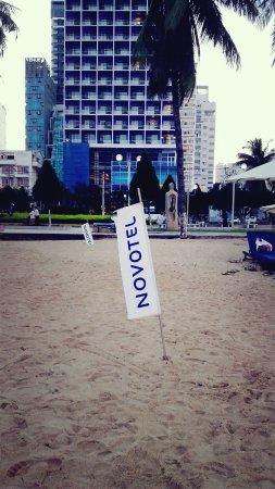 Novotel Nha Trang: The beach right infront of Novotel
