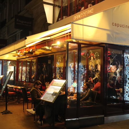 Restaurant Capucine Cafe - Photo de Restaurant Capucine Café, Paris ...