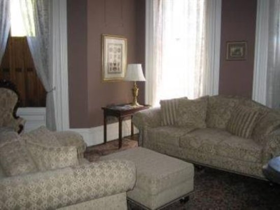 Harry Packer Mansion Inn: Guest room