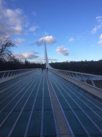Sundial Bridge: from the end near Turtle Bay
