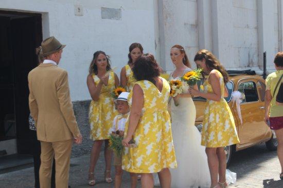 Scala, Italy: Een bruiloft