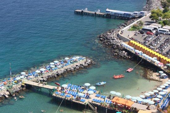 Scala, Italy: Het strand