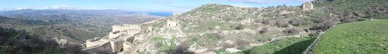 Acrocorinth: view from only halfway up