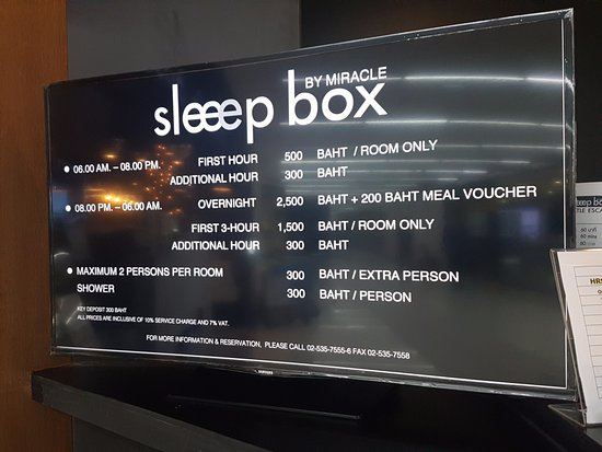 sleep box by miracle