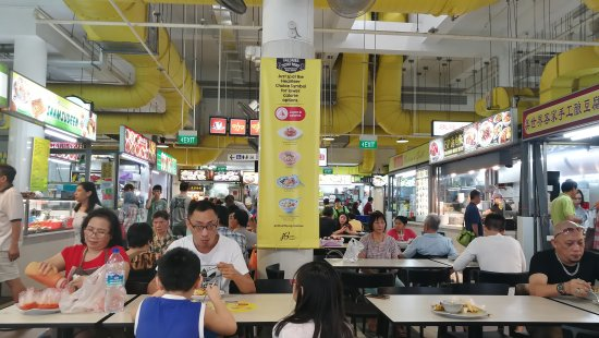 Bukit Panjang Hawker Centre and Market
