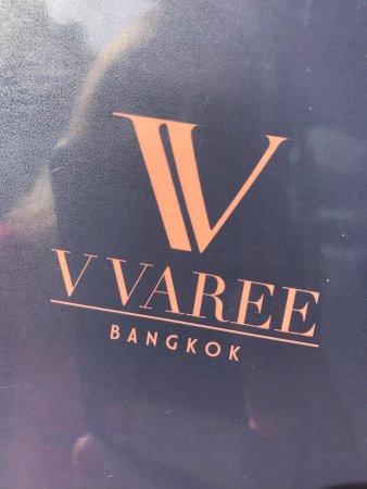 V Varee Bangkok: Superkoselig lunsjsted, vi fant det helt tilfeldig. De hadde t.o.m Prosecco😄👍 Deilig mat☀️👍