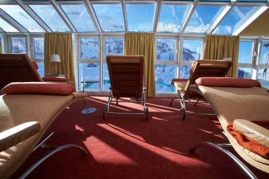 Hotel Steiner: Ruheraum mit Bergpanorama