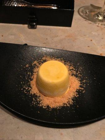 Tapas Molecular Bar: Pumpkin pie