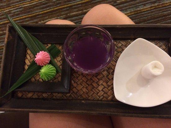 Sunbeam Hotel Pattaya: презент от сотрудников отеля при заселении
