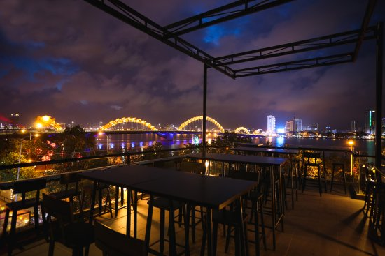 7 Bridges Brewing Company: Taking in a breathtaking view of the City of Bridges, which inspired our name.