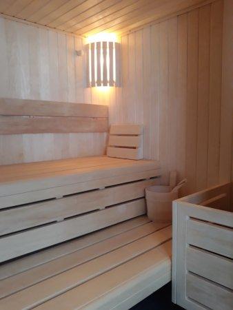 Hotel Restaurant L'Oxygene: sauna