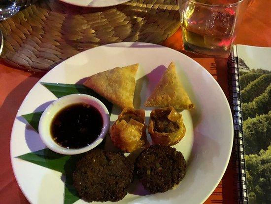 Georges Rhumerie French Restaurant: Starter plate