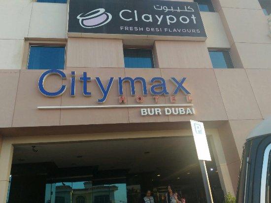 Citymax Hotel Bur Dubai: Entrance