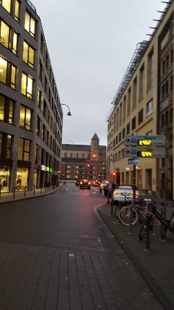 Heumarkt: Nice district of Cologne