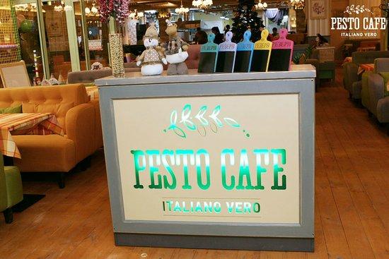 Pesto Cafe Блокбастер