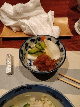 Ginza Maru: assorted pickles