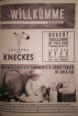 Troquet des Kneckes: Весело и вкусное пиво)))