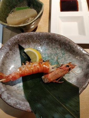 Zauo Shinjuku: Prawn grilled