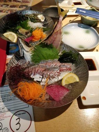 Zauo Shinjuku: sashimi