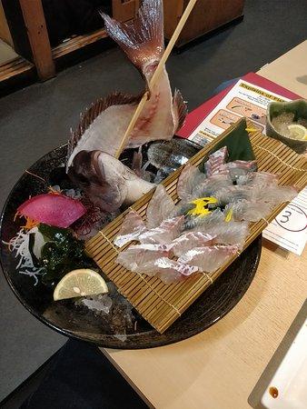 Zauo Shinjuku: sashimi2