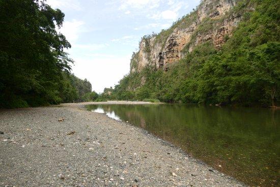 Canon del Rio Yumuri: De Yumuri klif