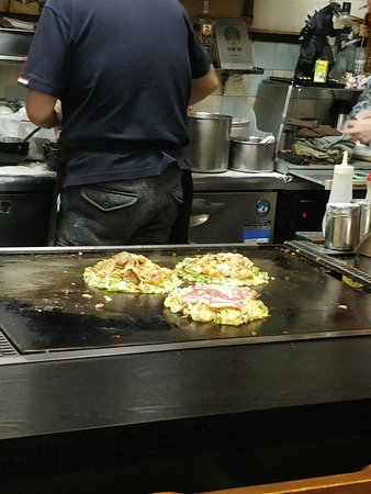Okonomiyaki Chitose: Okonomiyaki1
