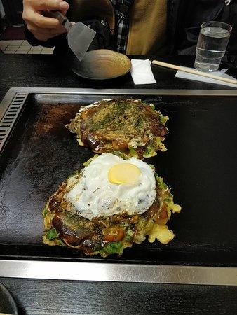 Okonomiyaki Chitose: Okonomiyaki2