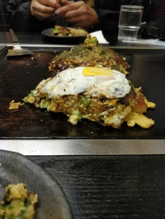 Okonomiyaki Chitose: Okonomiyaki3