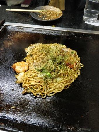 Okonomiyaki Chitose: Okonomiyaki5