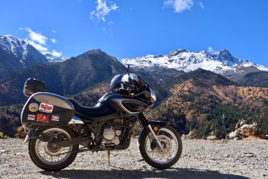 Ride China Motorcycle Tours and Rentals: Hello Himalayas