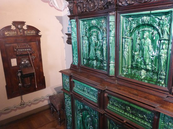 Park and National Palace of Pena: Early Switchboard & Jade Sideboard